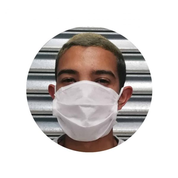 Disposable 3ply Non-Woven Face Mask (White) (10pc Packs)